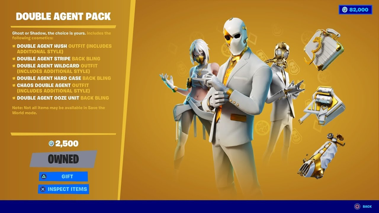 GIFTING *NEW* DOUBLE AGENT PACK THAT IS IN THE FORTNITE ITEM SHOP! July 9, 2020 Item Shop Today