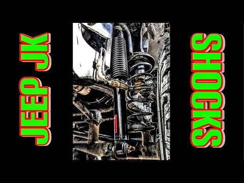 How to replace shocks on a Jeep Wrangler JK