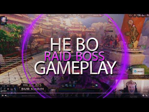 RAID BOSS: NEW 5v1 GAME SERIES - Incon - Smite