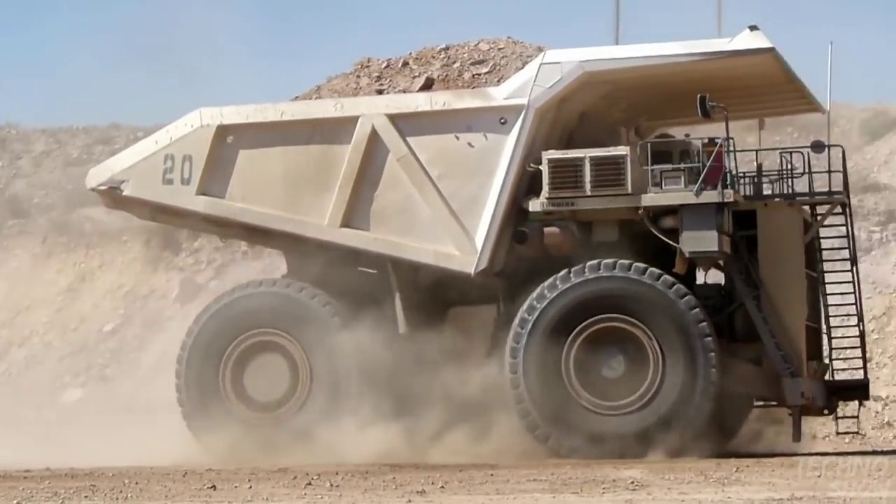 5 Самых БОЛЬШИХ САМОСВАЛОВ Самый большой грузовик самые большие машины