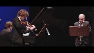 [teaser]Srul Irving GLICK - The Klezmer's Wedding pour clarinette, violon et piano
