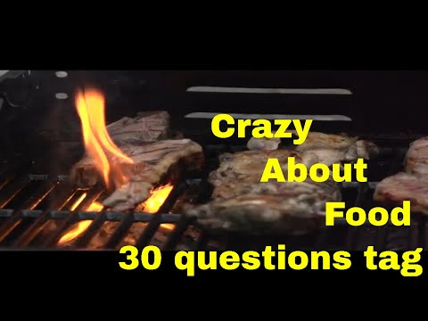 CRAZY ABOUT FOOD Get Farm is crazy for food. 30 questions TAG