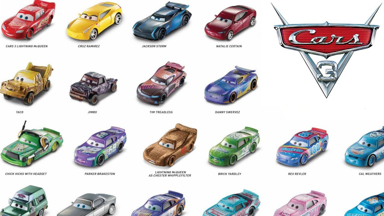 Cars 3 Movie Characters Www Pixshark Com Images