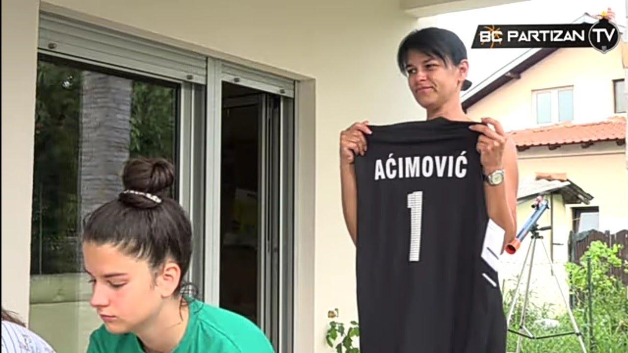 BC Partizan TV: KK Partizan pomogao obnovu doma porodice pokojnog Gorana Aćimovića Aćima u Lazarevcu