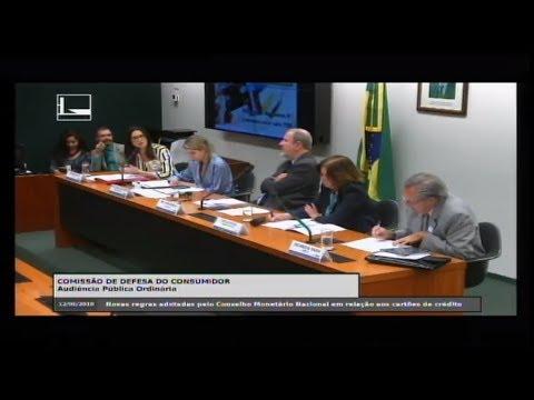 """DEFESA DO CONSUMIDOR - """"Novas regras adotadas pelo CMN aos cartões de crédito"""" - 12/06/2018 - 14:47"""