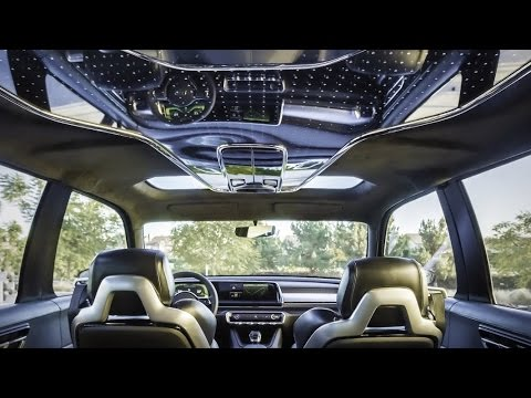 Get Closer To 2017 KIA Telluride Concept | Interior ...