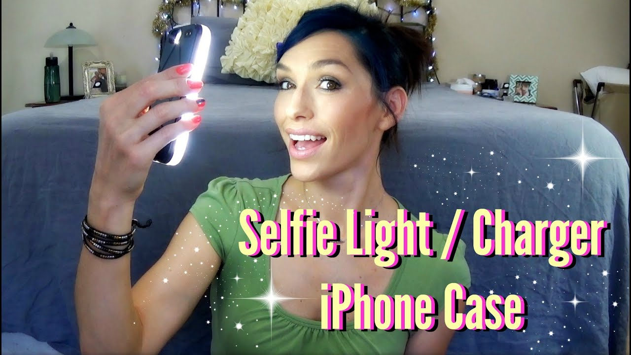 Eonfine LED Illuminated (Selfie Light) iPhone Case and Charger ... for Beauty Light For Iphone  45ifm
