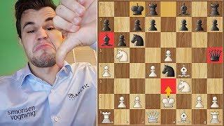 DrNykterstein (Magnus Carlsen) Plays King's Gambit || Lichess Titled Arena