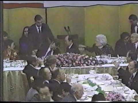 George HW Bush Pukes Jan 8 1992