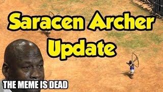 Saracen Foot Archer update