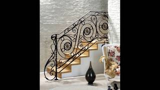 Wrought Iron | Indoor | Railing | 12 | Design