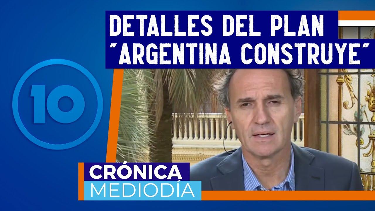 """Entrevista con Gabriel Katopodis sobre el plan """"Argentina Construye"""""""