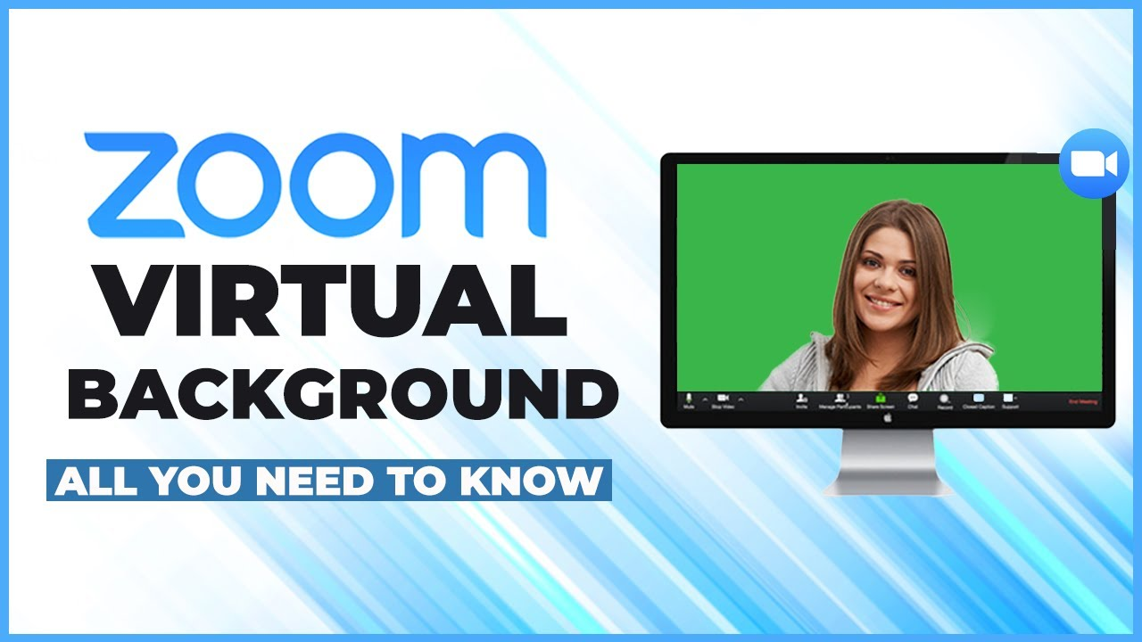 Zoom Virtual Background Without Green Screen Tips When Virtual Background Is Not Working Youtube