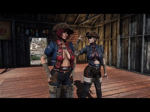 20d8d0c4c Fallout 4 Mod Review - The Kite s Militia Woman Outfit - YouTube