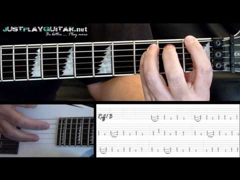 [ NIGHTWISH - Storytime ] How to play part 2/2 [ free guitar lesson ] with tabs