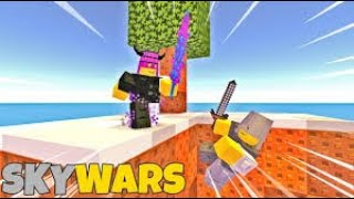 Playing Roblox Skywars Gameplay on Pc!