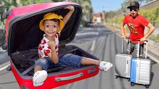 Марк и папа собираются в путешествие на летние каникулы