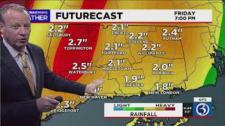 FORECAST: Nice weather through today, then a big storm arrives in time for Christmas