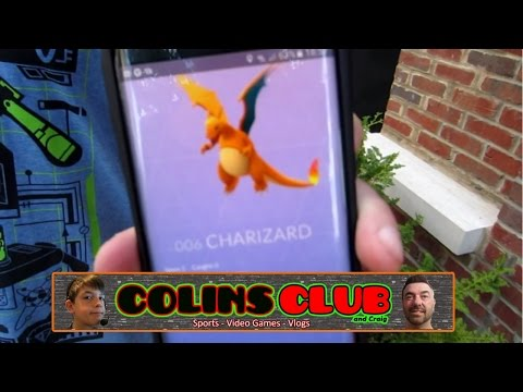 Hunting Pokemon Go Around Town - ColinsClub