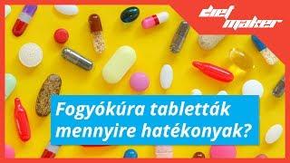 Fogyókúra tabletták mennyire hatékonyak?