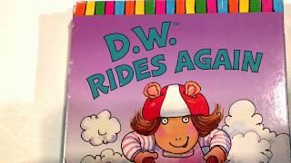 Arthur * D. W. Rides Again * Zuzüglich Arthur s Cousin Catastrophe * VHS-Zeichentrick-Film-Sammlung