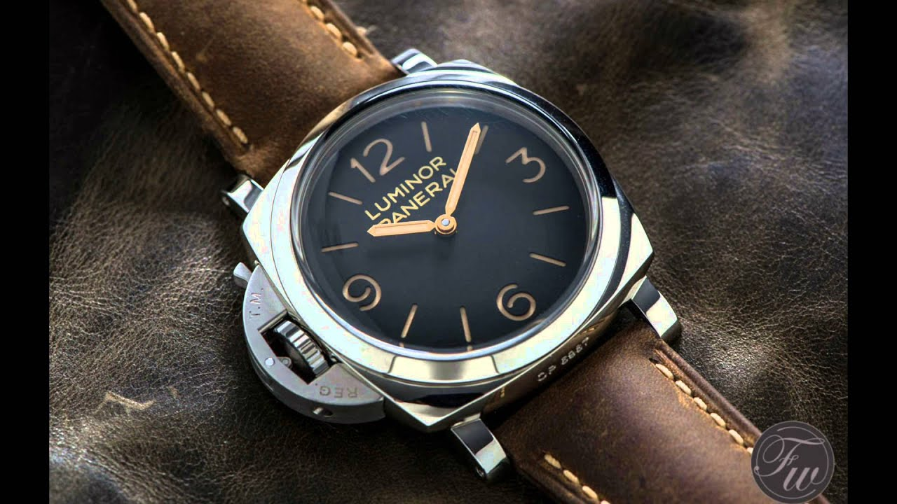panerai history and range overview youtube