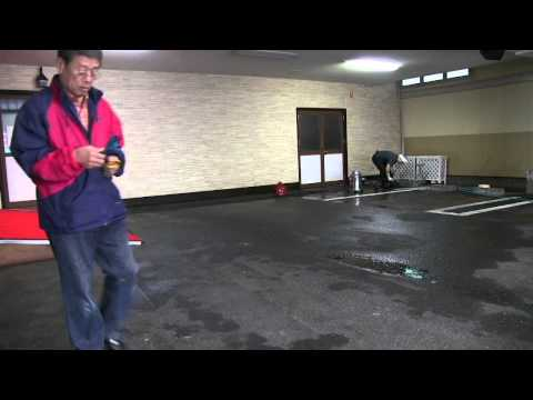Helping My Father's Business - cleaning up the indoor car park