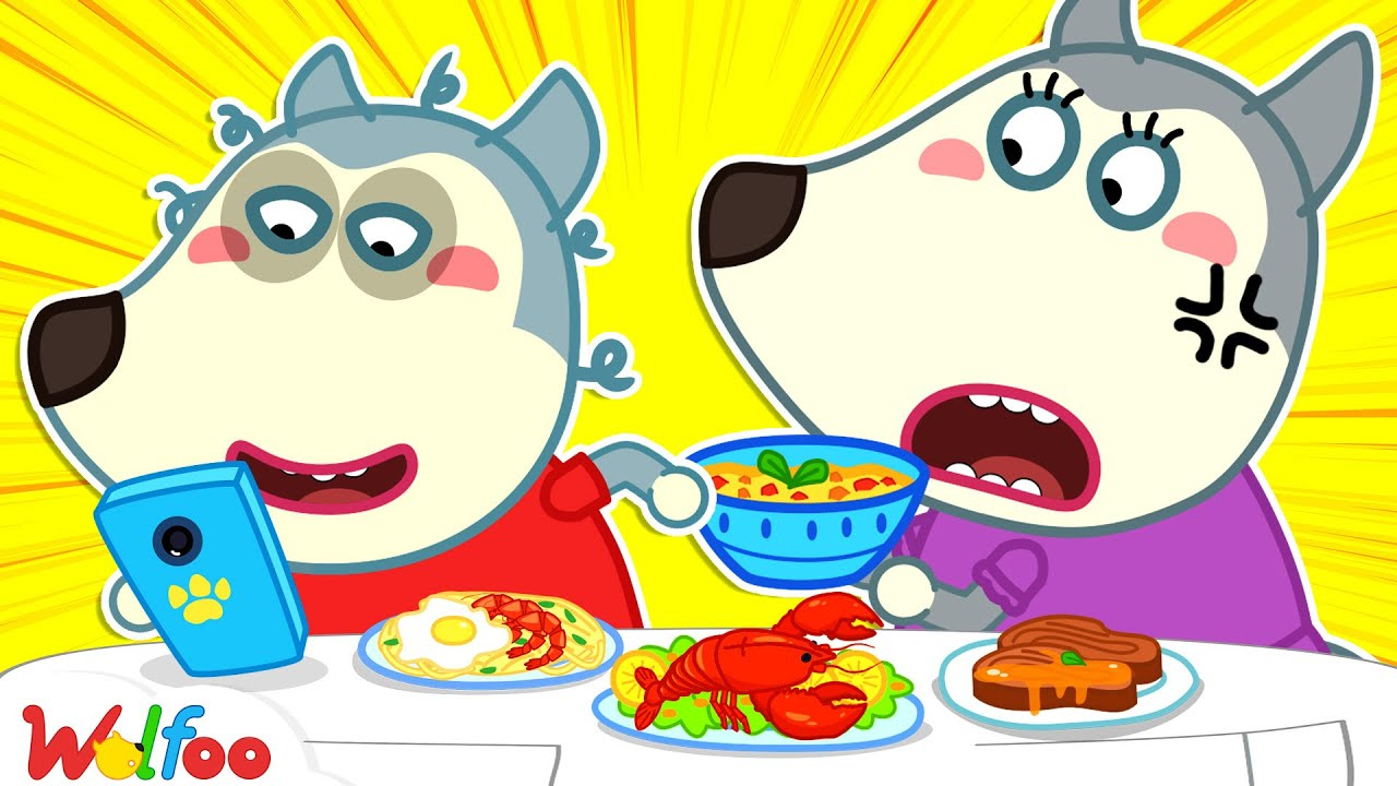 Wolfoo, Focus on Your Meal - Yes Yes, It's Time to Eat - Learn Good Habits for Kids | Wolfoo Channel