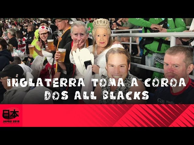 DDJ - Inglaterra x All Blacks: Inglaterra toma a coroa dos All Blacks