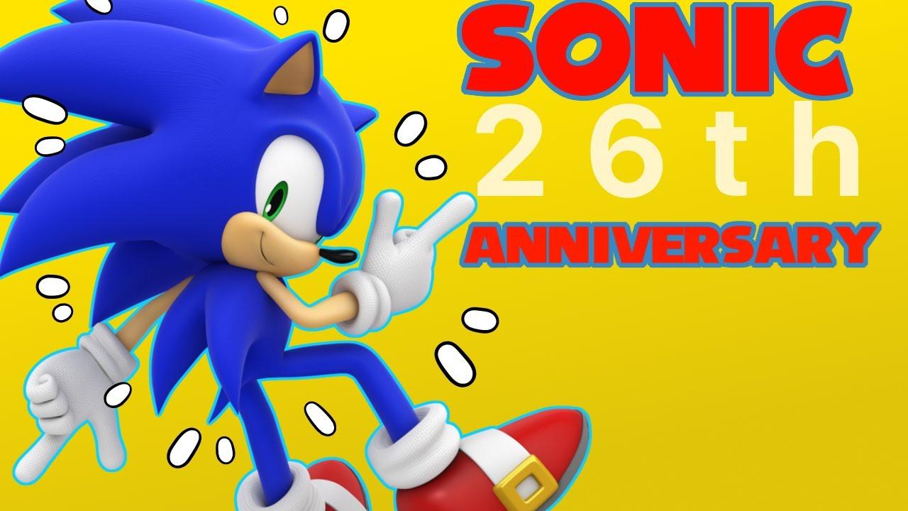 26th Wedding Anniversary Gift: 【26th ANNIVERSARY】sonic The Hedgehog Jᴜsᴛɪᴄᴇ