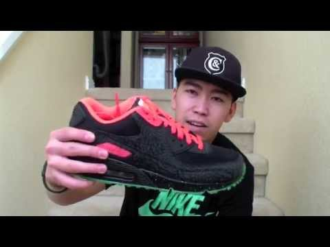 free shipping 51035 0713b Review  4   3LAB90 x Yeezy 2   Nike Air Max 90 iD Collab   Niclacoste    2014 - YouTube