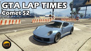 Fastest Tuners (Comet S2) - GTA 5 Best Fully Upgraded Cars Lap Time Countdown