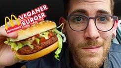Ich teste den veganen Burger von McDonalds!