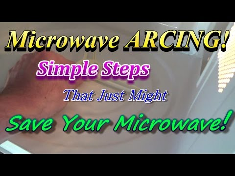 How To Fix An Arcing Microwave For FREE!  Don't Throw It Away Until You Watch This Video!