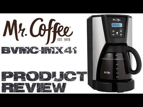 Mr. Coffee 12 Cup Programmable Coffee Maker Product Review