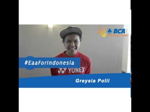 Greysia Polii For BCA Indonesia open 2015