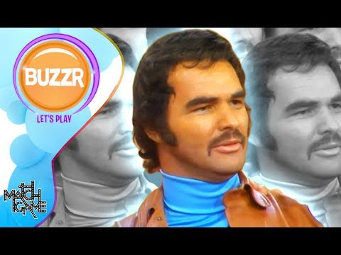 Match Game - Burt Reynolds Visits The Match Game Set In 1974 | Classic Games | BUZZR