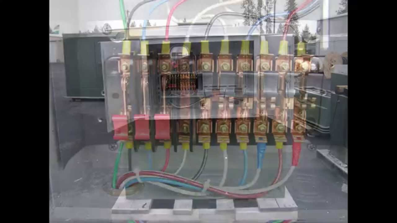 Transformer Wiring Diagrams Three Phase Ignition Switch D Ab Aa Ct Electric Meter - Youtube