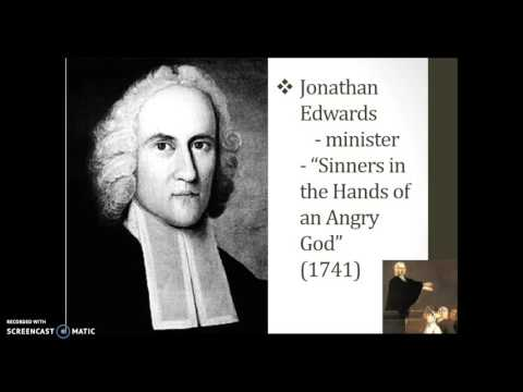 The Enlightenment and the First Great Awakening