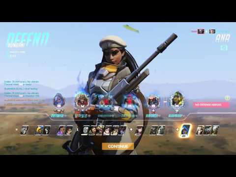 [Overwatch] Mercy Forced To Play Ana