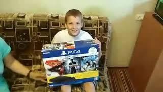 PS4 Розпакування.Подарунок від батьків))