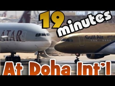 19min of Aviation in HD! Doha spotting at it's best 2013 (MUST WATCH)
