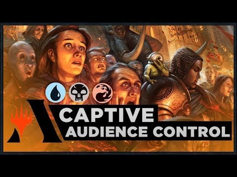 Captive Audience Control   Ravnica Allegiance Standard Deck (MTG Arena)