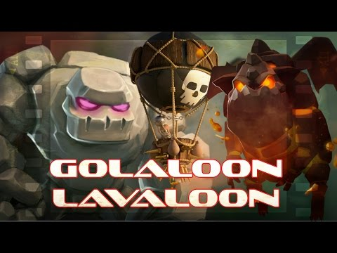 Golaloon • lavaloon | TH10 3 star attack strategy with lava hound and balloon | Clash of clans Eps2