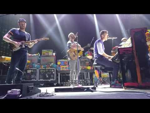 Coldplay  Fix You, November 13, 2015