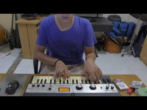 Quick Sequencing Idea | #jamuary2018 | MicroKORG XL | FXSONIC