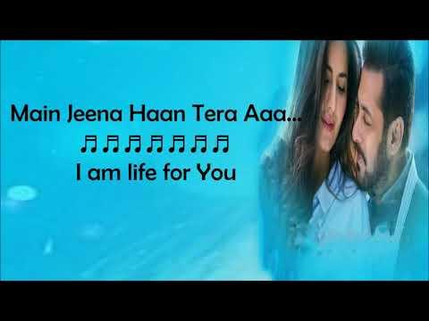 Dil Diyan Gallan Song Lyrics With English Translation   Tiger Zindai Hai   Atif
