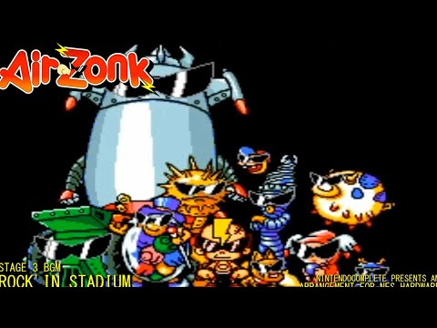 ♫Air Zonk: Rock'in Stadium (8-bit NES Arrangement) - NintendoComplete