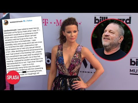 Kate Beckinsale Claims Harvey Weinstein Tried to Assault Her | Daily Celebrity News | Splash TV