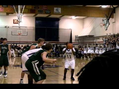 Max Browne Basketball - Skyline vs Garfield 2-11-11